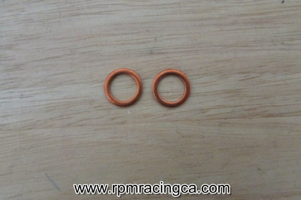 Brake Line Copper Crush Washer