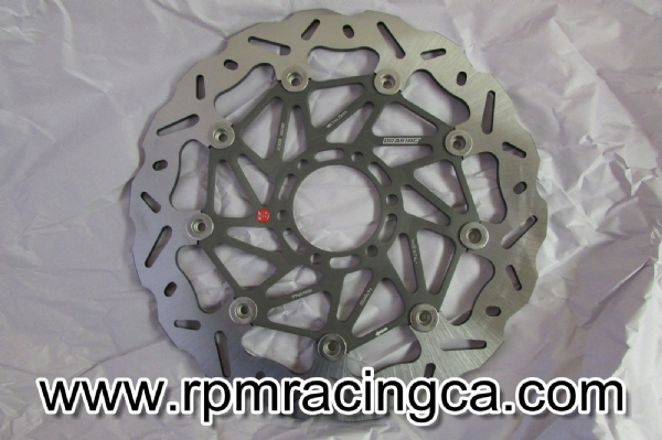 Braking Disc Wave Floating Rotor Right