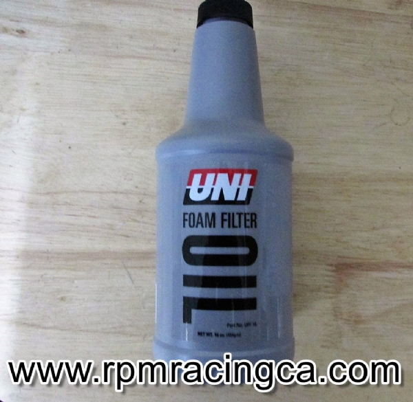 UNI Bottled Filter Oil