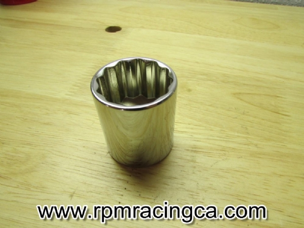 27mm; 12pt Shallow Socket
