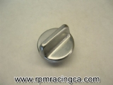 Fine Thread Oil Fill Cap - Silver