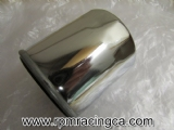Hi Flo Oil Filter Chrome