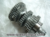 Undercut Transmission Output Shaft
